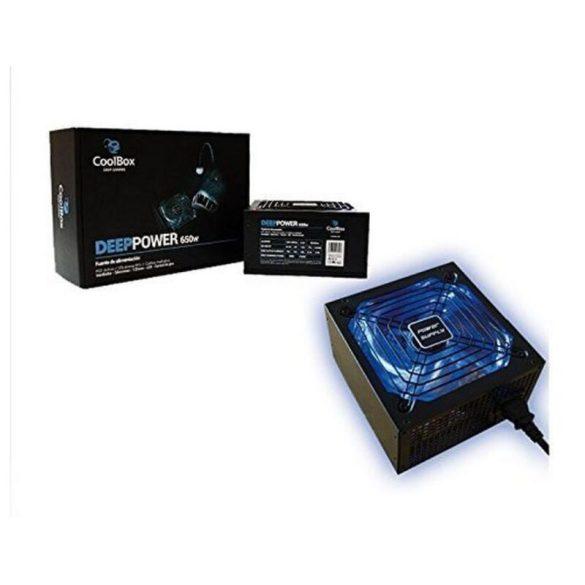 Gamer Tápegység CoolBox DG-PWS650-85B 650W