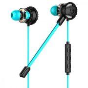 Fejhallgató Játék Mikrofonnal Hiditec GHE010002 (3.5 mm) Fekete Kék