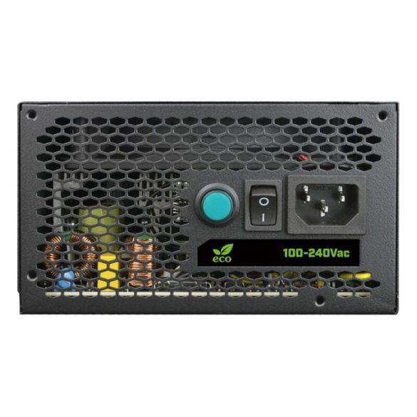 Gamer Tápegység CoolBox DG-PWS600-MRBZ RGB 600W Fekete