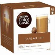 Kávékapszulák Nescafé Dolce Gusto Cafe Au Lait (30 uds)