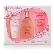 Női Parfüm Szett Agua Rosas Aire Sevilla (3 pcs) (3 pcs)