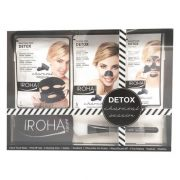 Női Kozmetikai Szett Detox Charcoal Black Passion Iroha (7 pcs)