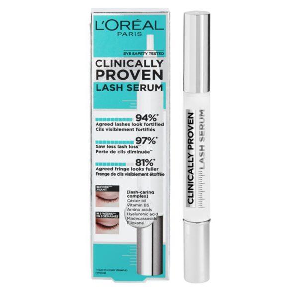 Szemöldök és szempilla Szérum Clinically Proven L'Oreal Make Up