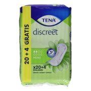 Inkontinencia Betét Discreet Mini Tena (24 uds)
