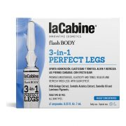 Ampullák Flash Body laCabine 3 az 1 Lábra (7 x 7 ml)