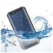 Vízálló Tok Samsung Galaxy S8 Aqua Case Fekete Átlátszó