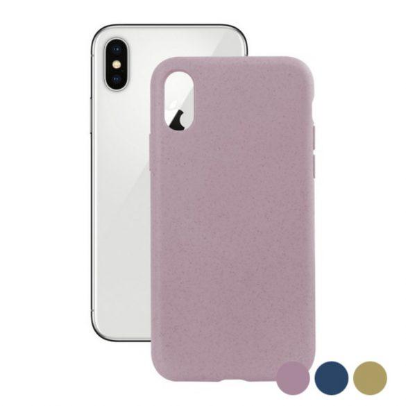 Mobiltelefontartó Iphone X KSIX Eco-Friendly Sárga
