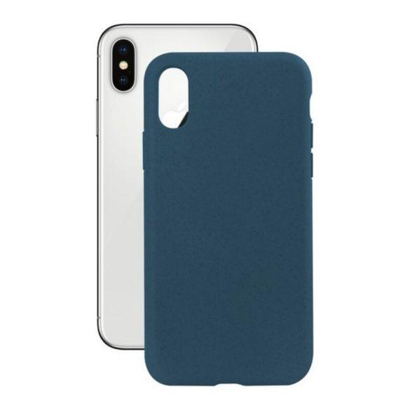Mobiltelefontartó Iphone X KSIX Eco-Friendly Kék