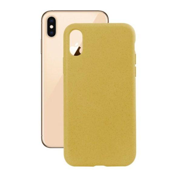 Mobiltelefontartó Iphone Xs Eco-Friendly Sárga