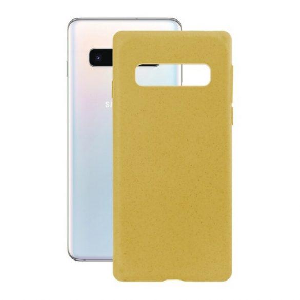 Mobiltelefontartó Samsung Galaxy S10 Eco-Friendly Sárga