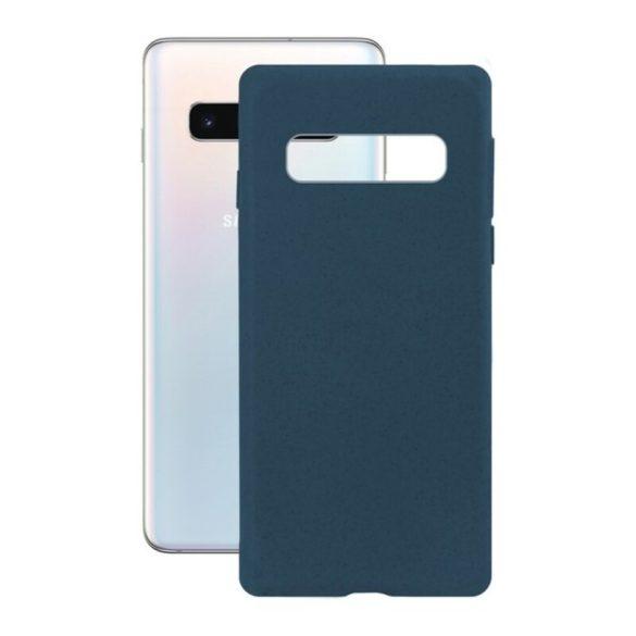 Mobiltelefontartó Samsung Galaxy S10 KSIX Eco-Friendly Kék