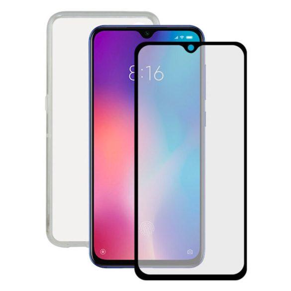 Edzett Üveg Kijelzővédő Mobiltelefonhoz + Mobiltartó Xiaomi Mi 9 Contact