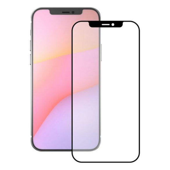 Törésálló Üveg iPhone 12 Pro Max KSIX Full Glue 2.5D