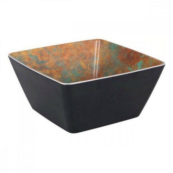 Salátás Tál Viejo Valle Melamin Fekete (19 x 19 x 9 cm)