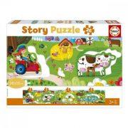 Baby Farm kirakós Story Educa (26 pcs)