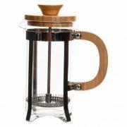 Dugattyús kávéfőző DKD Home Decor Bambusz Rozsdamentes acél (350 ml)