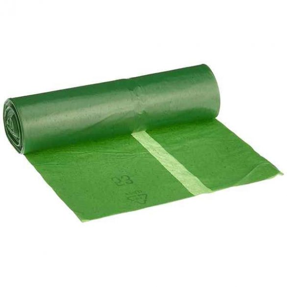 Szemeteszsák Deiss Premium Zöld (70L) (Felújított B)