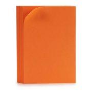 Papír Eva Gumi 10 (30 x 0,2 x 20 cm) (10 Darabok) Narancszín