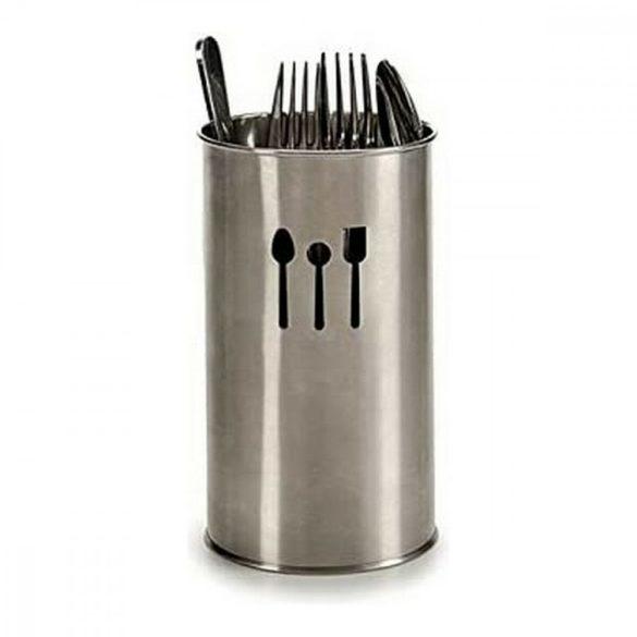 Evőeszköz szervező (10,2 x 18 x 10,2 cm) Rozsdamentes acél