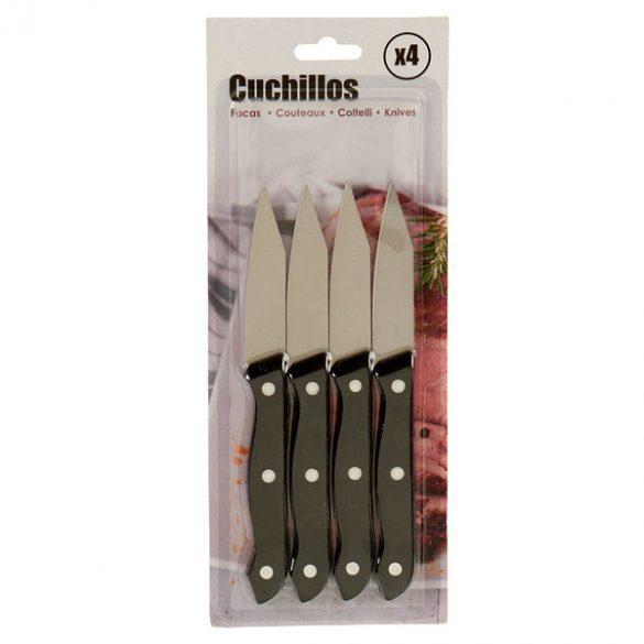 Hámozó kés Fém Műanyag (4 pcs) (1,5 x 28 x 11 cm)