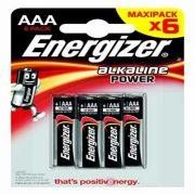Elemek Energizer E300132500 LR03 AAA (6 uds)
