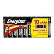 Alkáli Elemek Energizer 630066 AAA LR03 (10 uds)