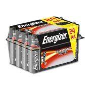 Alkáli Elemek Energizer AA LR6 (24 uds) Fekete