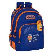 Iskolatáska Valencia Basket Kék Narancszín