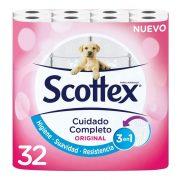 WC-papír Scottex Original 2 réteg (32 uds)