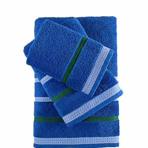 Törölköző készlet Benetton Rainbow Kék (4 pcs)