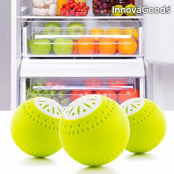 InnovaGoods Ökolabdák Hűtőszekrénybe (3 darab)