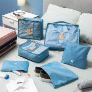 Bőrönd szervező táska szett Luggan InnovaGoods 6 Darabok