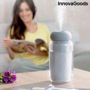 Ultrahangos aroma diffúzor párásító LED-del Stearal InnovaGoods